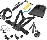 Insignia Essential Accessory Kit for GoPro Action Camera
