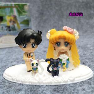 Sailor-Moon-25th-Petit-Chara-pretty-guardian-Happy-Wedding-mini-Figure-in-box
