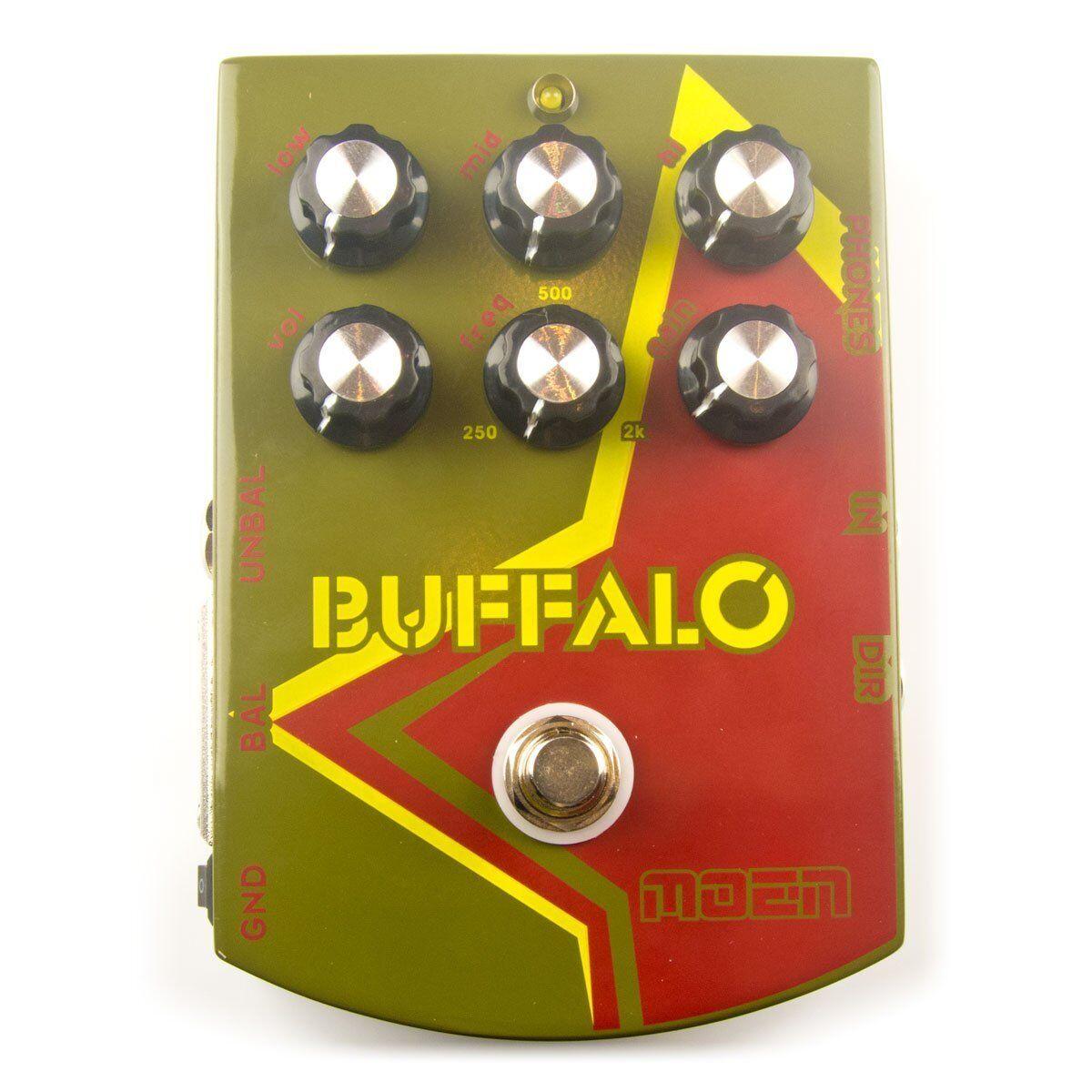 Moen MO-BA Buffalo GEN GEN GEN 3 EQ de barrido de frecuencias medias, Caja DI, Guitarra Pedal Nuevo fc3a60
