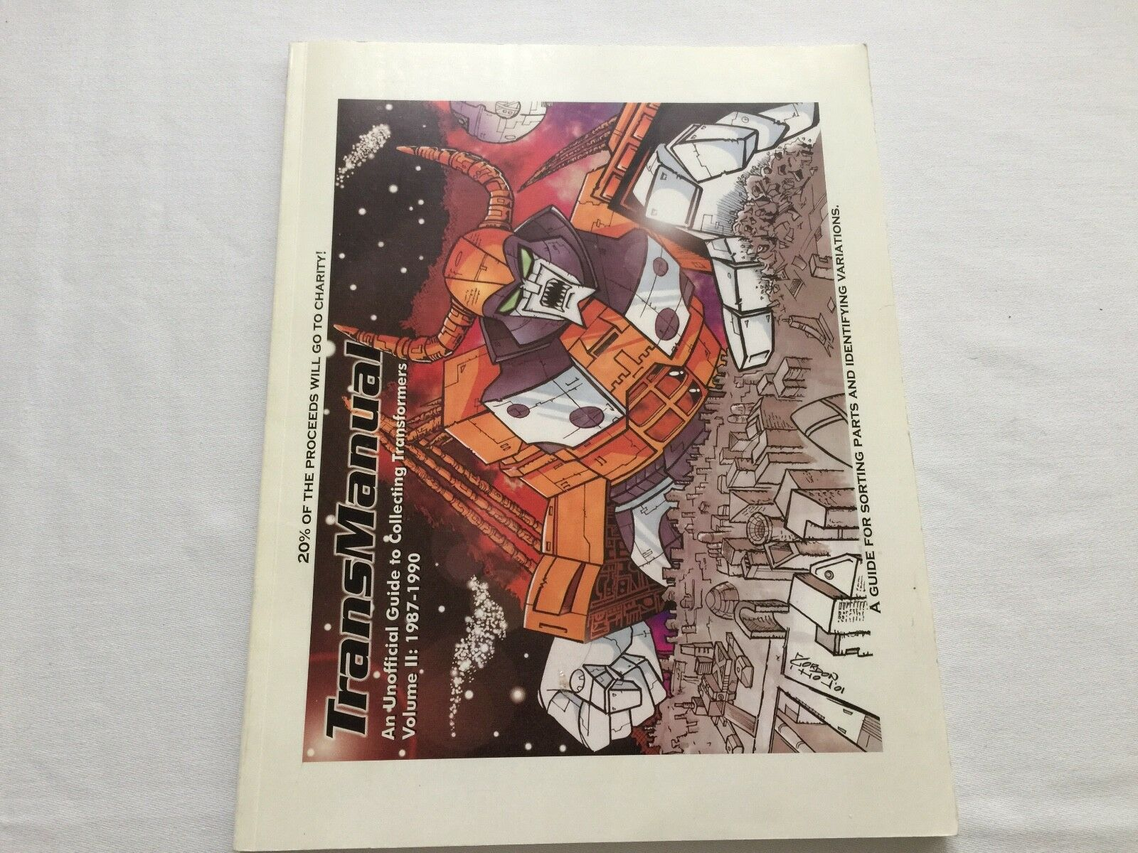 Transformers G1 TRANSMANUAL part 2 complete collection guide book toyline