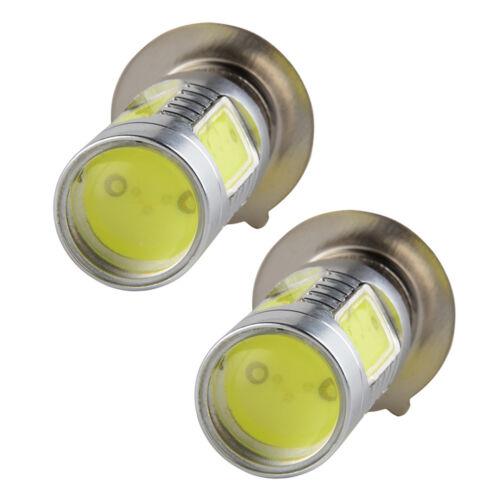 For Yamaha Big Bear 350 400 Blaster 200 Xenon White H6M COB LED Headlight Bulbs
