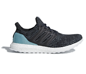{CG3673} MEN'S ADIDAS ORIGINALS ULTRA BOOST PARLEY RUNNING SHOES BLUE/WHITE NEW