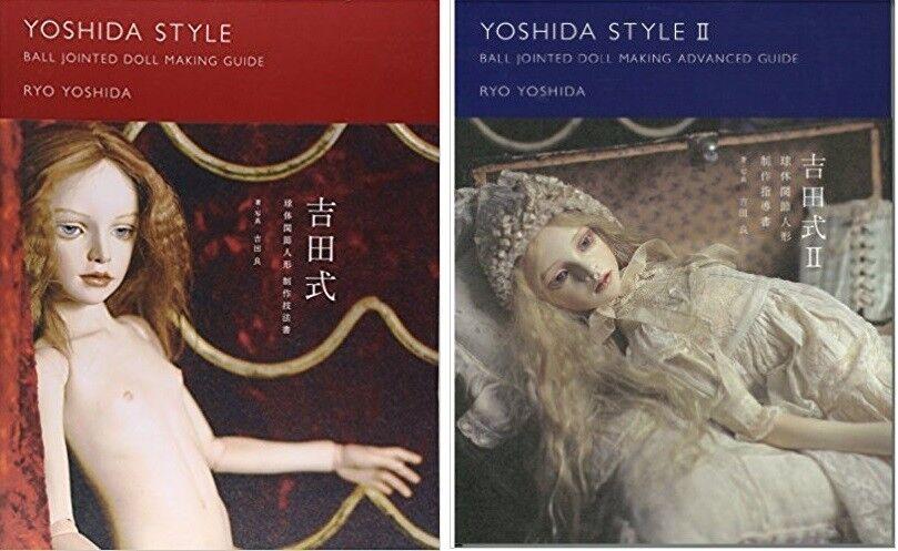 Ryo Yoshida Stile Sfera Snodato Bambola Creazione Guida Libro Set New da Japan F