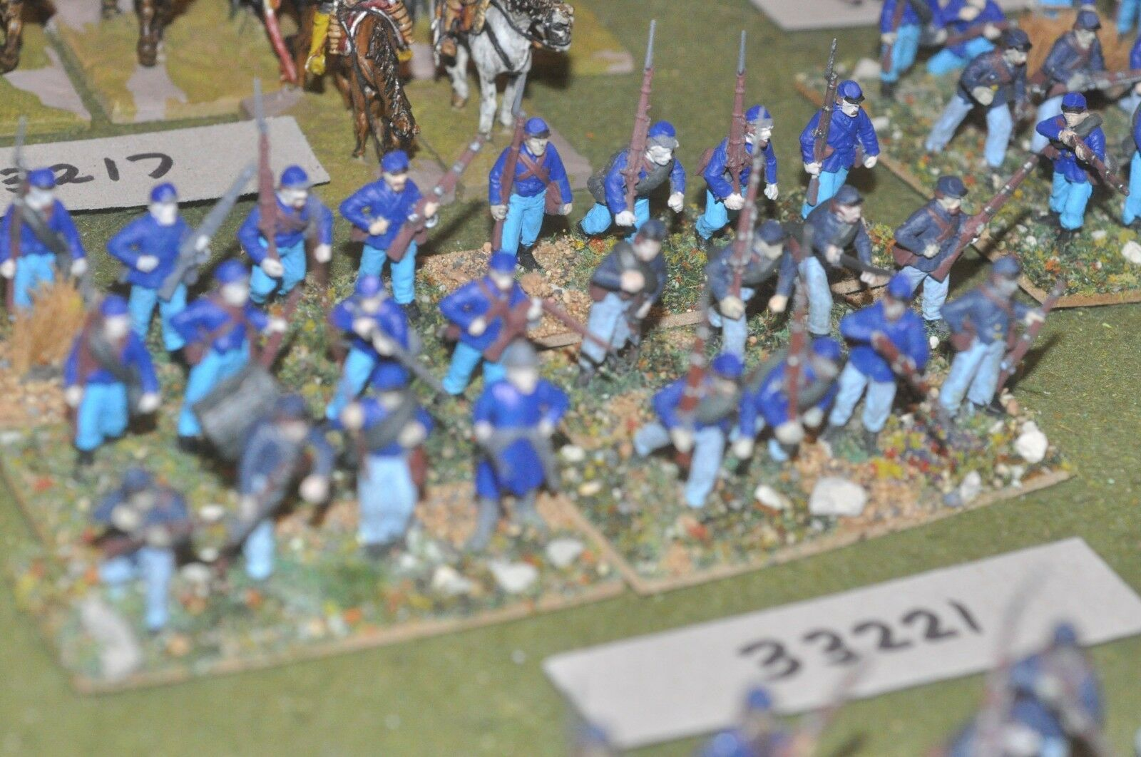 25mm ACW   union - regiment (plastic) 24 figures - inf (33221)