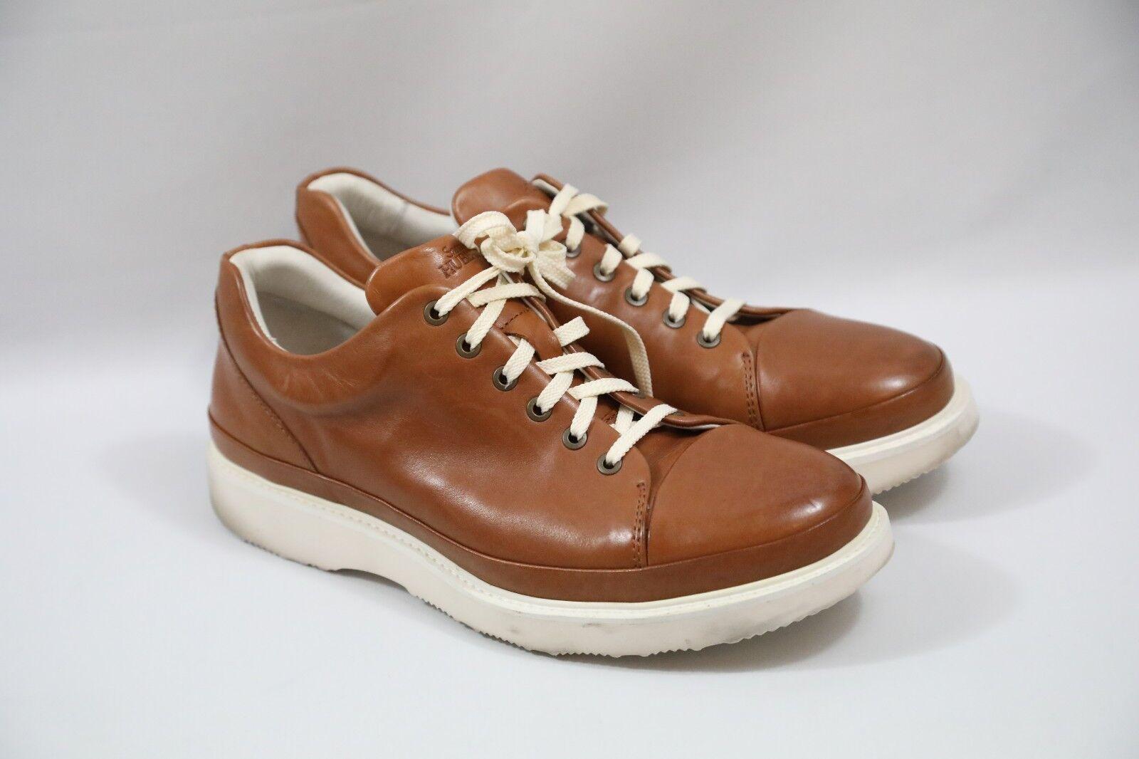 308 Samuel Hubbard Cuir Baskets Taille 11 W Retail  235