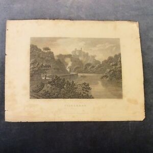 Antique-Book-Print-Cilgarran-Wales-Early-1800s