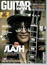 "GUITAR PART #218 ""Slash,Jack White,Jim Marshall"" (REVUE+DVD)"