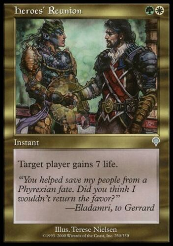 Invasion *Lifegain FOIL NM* MTG 1x HEROES/' REUNION