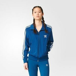 adidas firebird jacket blue