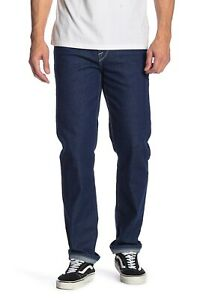 Volcom-Men-039-s-Solver-Modern-Fit-Straight-Jeans-Indigo-Ridge-New-38x34