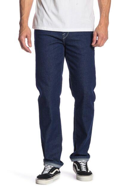 Volcom Men's Solver Modern Fit Straight Jeans Indigo Ridge New 33x34