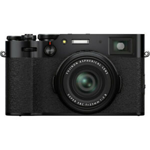 Fujifilm X100v Black Digital Compact Camera