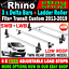 Low-Roof-Twin-Rear-3x-Rhino-Bars-Roof-Rack-and-Rear-Roller-Ford-Transit-Custom thumbnail 1