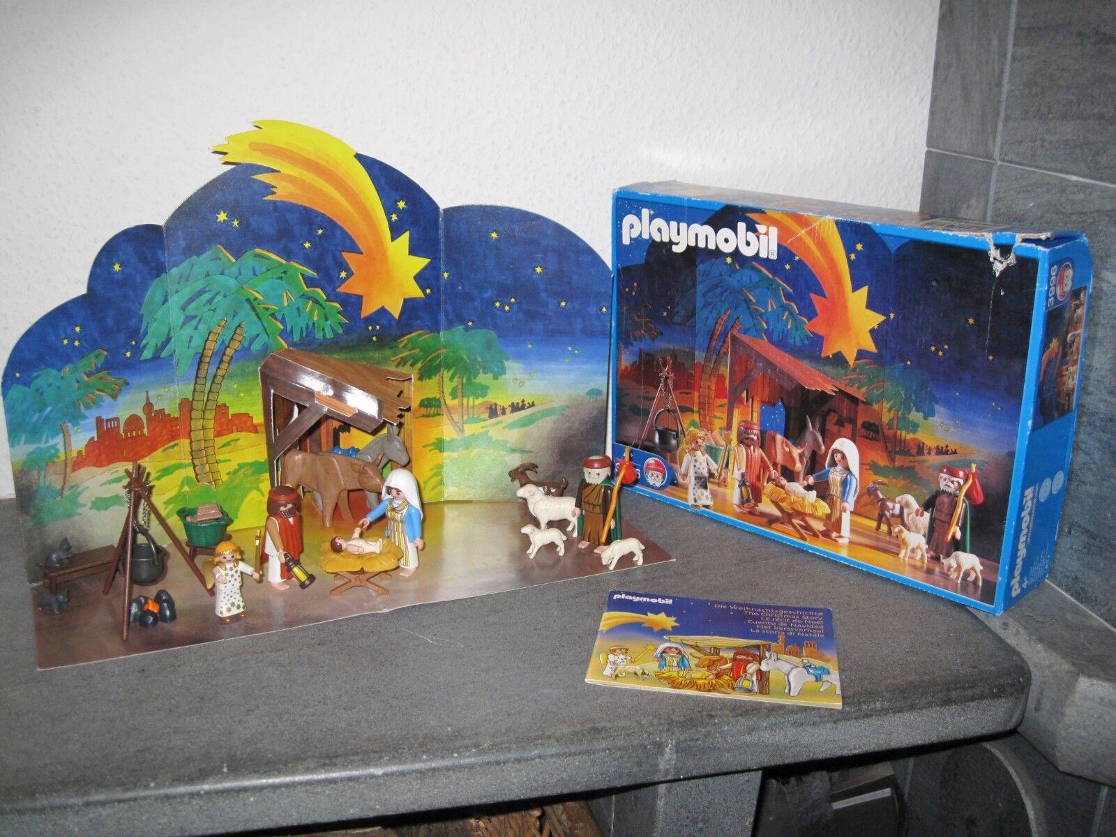 Playmobil 3996 - Weihnachtskrippe - Vollständig - OVP - Aufbauanleitung