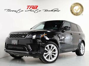 2019 Land Rover Range Rover Sport HSE TD6 I PANO I NAV I 21 IN WHEELS I HEADS UP