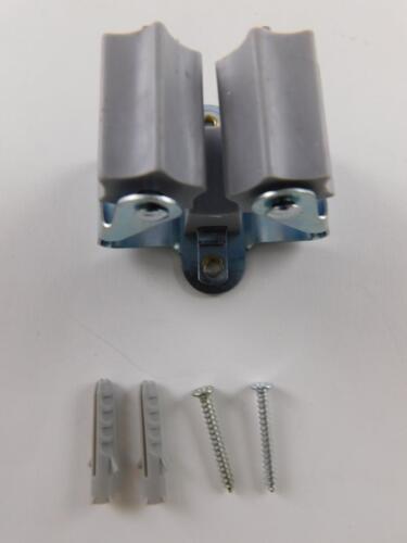 SECOTEC Gerätehalter Klemmfix Wandhalter aus Federstahl verzinkt für Besen usw.