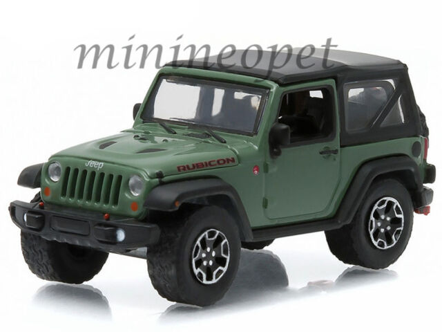 Greenlight All Terrain 1 2015 Jeep Wrangler Rubicon Gloss Army
