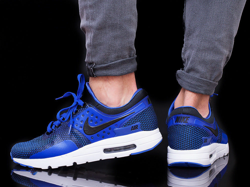 NIKE ESSENTIAL AIR MAX ZERO ESSENTIAL NIKE Running Trainers Gym Casual - UK 7 (EUR 41) - Blau fa538f