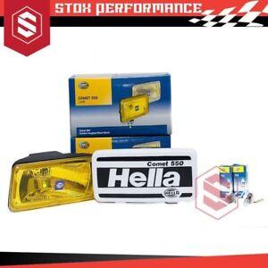 Genuine-Hella-Comet-550-H3-12V-55W-Sport-Light-Halogen-Driving-Light-Yellow