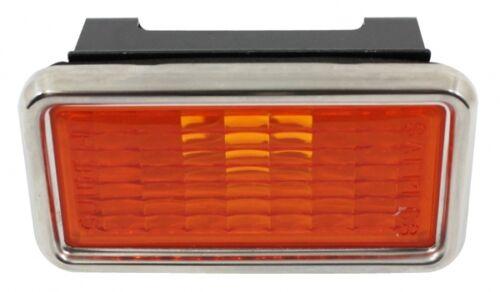 1969 Chevrolet Corvette Front Marker Light Assembly Amber TrimParts! USA-Made