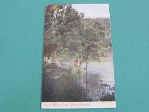 Leg of Mutton Lake Mount Gambier Postcard Unused