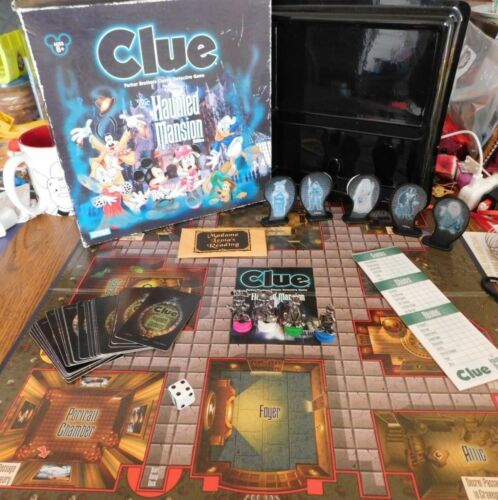 Disney Clue Board Game Haunted Mansion Edition Replacement Pieces READ
