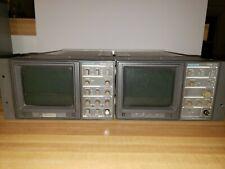 Tektronix 1720 Vectorscope And 1710b Waveform Display Untested For Parts