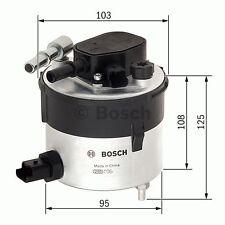 Ford Focus 1.6D Filtro De Combustible 05 a 11 F026402046 Bosch 1386037 5M5Q9155AA Calidad