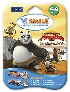 Jeu-V-Smile-Motion-Kung-Fu-Panda-La-Mission-de-PO-4-6-ans-Vtech-Vsmile