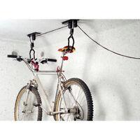 Bicycle Lift Ceiling Bracket 20kg Garage Bike Mount Wire Rope Hoist