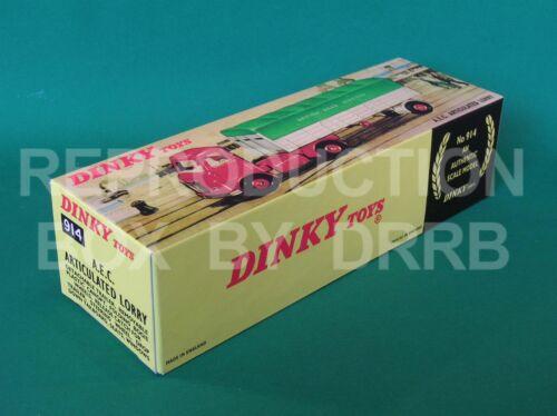 b.r.s. Dinky Camión Articulado #914 a.E.C. Caja de reproducción por drrb