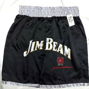 Mens-boxers-shorts-Jim-Beam-Long-short-satin-Size-L-1759-Acorn-k