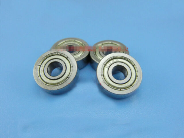 30pcs 604ZZ 604Z 604 2Z 4x12x4mm Deep Groove Ball Bearing Mini Bearing 4*12*4
