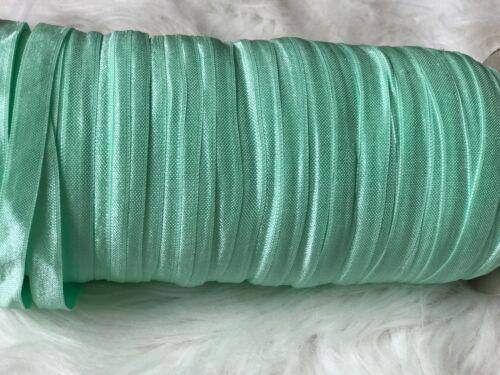 Baby Girls Hairband 20 Metres Small 10mm Foldover Elastic Roll for Headbands Kid