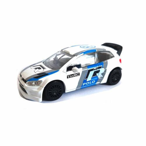 Norev 430301 VW Polo R WRC weiss ° Course Auto Maßstab 1:43 Modellauto NEU