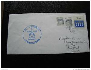 Germany-Rfa-Land-Southern-Antartiques-Letter-9-10-84-Stamp-Germany-cy9