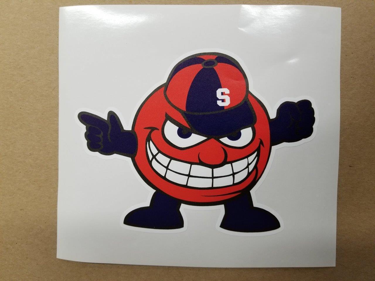 Syracuse cornhole board or vehicle decal(s) NCAA SYA1