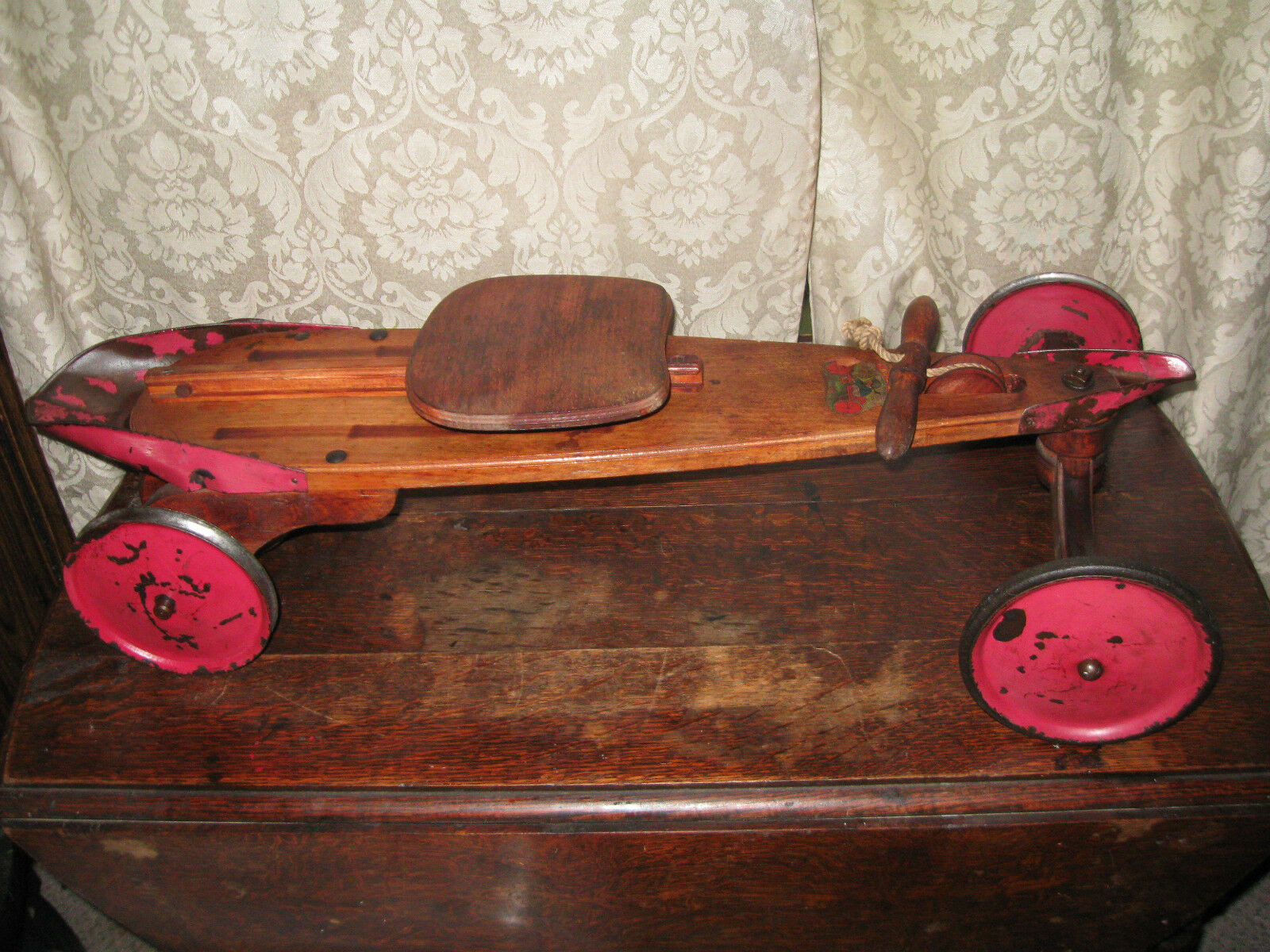 French Mail Car Original  Auto-Skiff    Ride-On Circa 1925  sale outlet