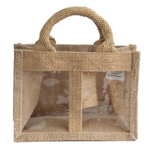 5-x-Two-Window-Jar-Jute-Gift-Bag-Natural-Gift-Bags-With-Handles