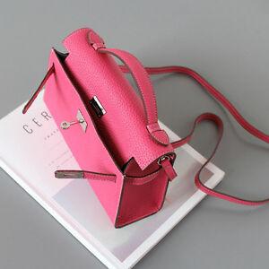 Bolso Corea mujer Bolso Mini para hecho en piel estilo ~ Poche Togo genuina 6OZxn6