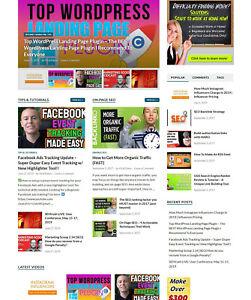 Turnkey SEO Blog Website + AutoPilot + Free Hosting