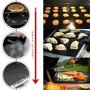 BBQ-GRILL-MAT-set-of-2-sheets-Reusable-Non-stick-Make-Grilling-Easy-BBQ