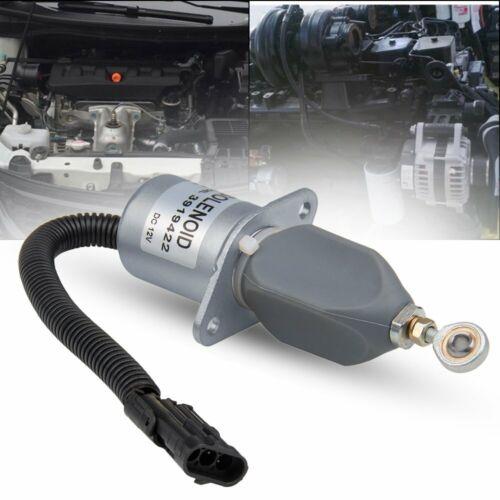 New Fuel Shut Off Solenoid For Ford Cummins Diesel bolt spacing 5.9//8.3L 3919422