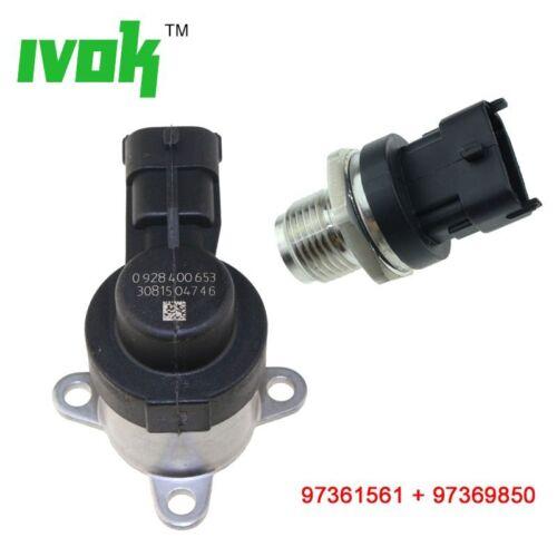 Diesel Fuel Rail Pressure Sensor /& Pump Control Valve For Chevrolet GMC 6.6L V8