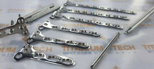 Small T Locking Plate 3 To 9 Holes For 35mm Screws Amp Lcp Screws 70 Pcs Set