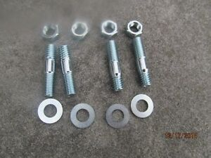 Holley carb hold down bolts 396 427 Chevrolet and others complete kit 1965 - 74