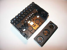 Sockel Satronic S98-9polig für TF/TFI  mit  PG Platte und Kabelklemmplatte