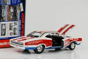 1969-Dodge-Charger-Super-Bee-car-Clinic-Petrie-1-18-auto-World-Ertl