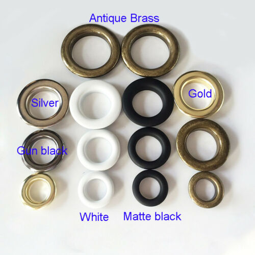 Eyelet with Washer For Leather Craft Repair Grommet Banner 20mm 25mm 30mm 40mm