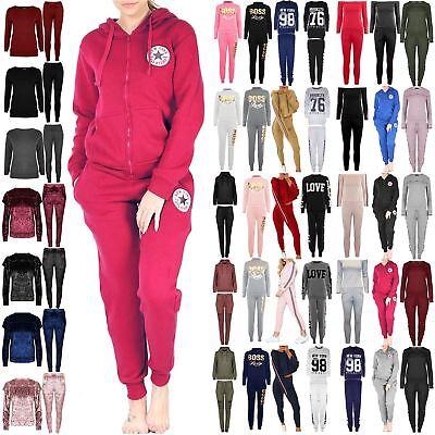 Aggressiv Ladies Womens Loungewear New York All Stars Front Pockets Hoodie Zip Tracksuit Starker Widerstand Gegen Hitze Und Starkes Tragen